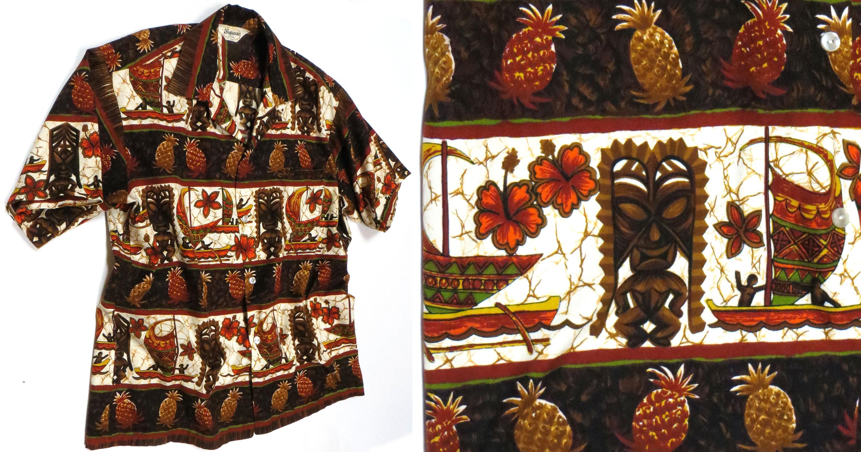 Vintage '60s Tiki Shirt