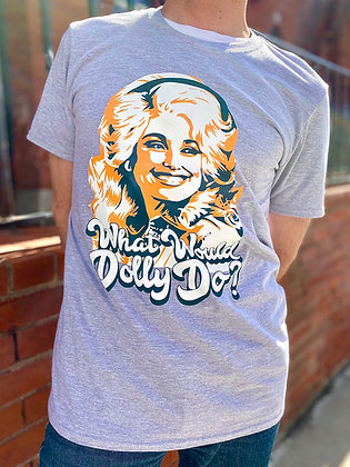 """""""What Would Dolly Do?"""" Cotton T-Shirt"""