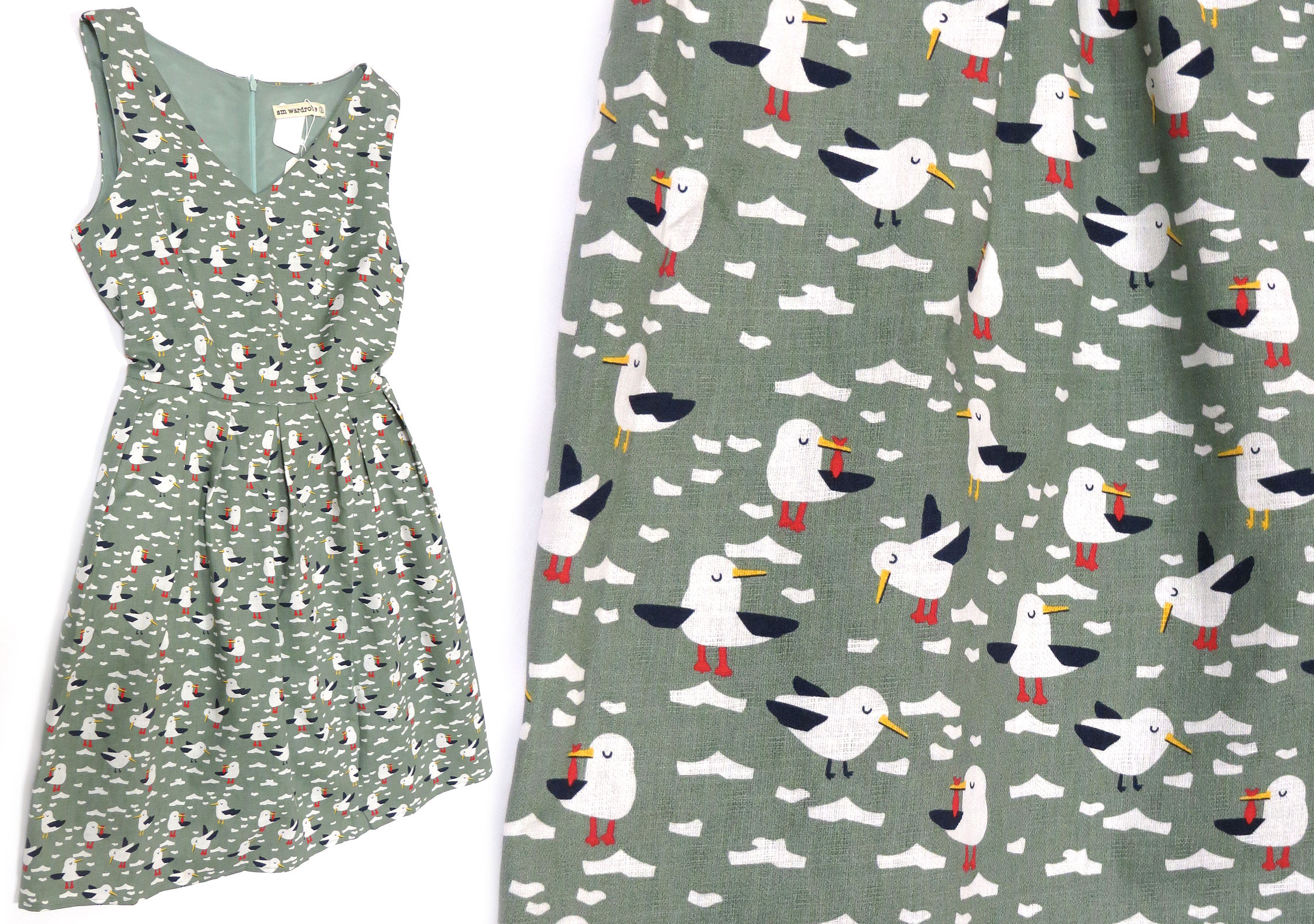 Seagull Dress