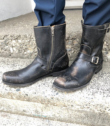 MEN'S FRYE Distressed Leather Boots