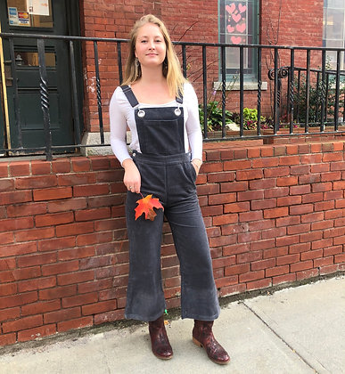 NEW Corduroy Cropped Overalls