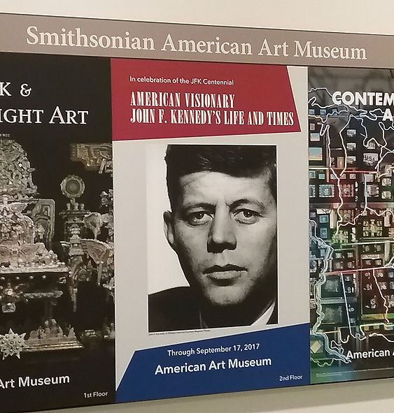 American Visionary: John F. Kennedy's Life and Times, Smithsonian American Art Museum, Matt Maranian Lawrence Schiller