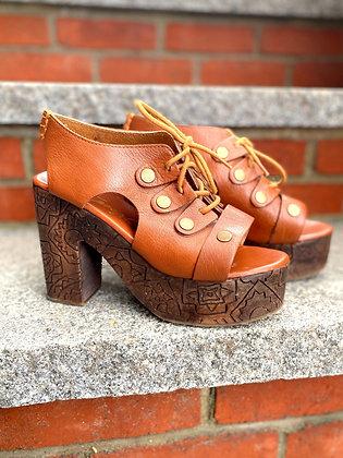 Free People Platform Sandals ~ Size 38