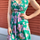 Thumbnail: Tibi NY Pleated Silk Floral Dress