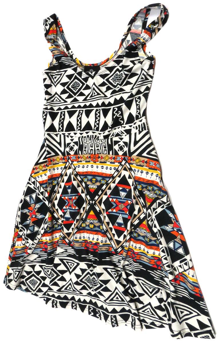 Geo Tank Dress