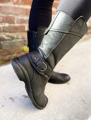 Merrell Mid-Calf Waterproof Leather Boots