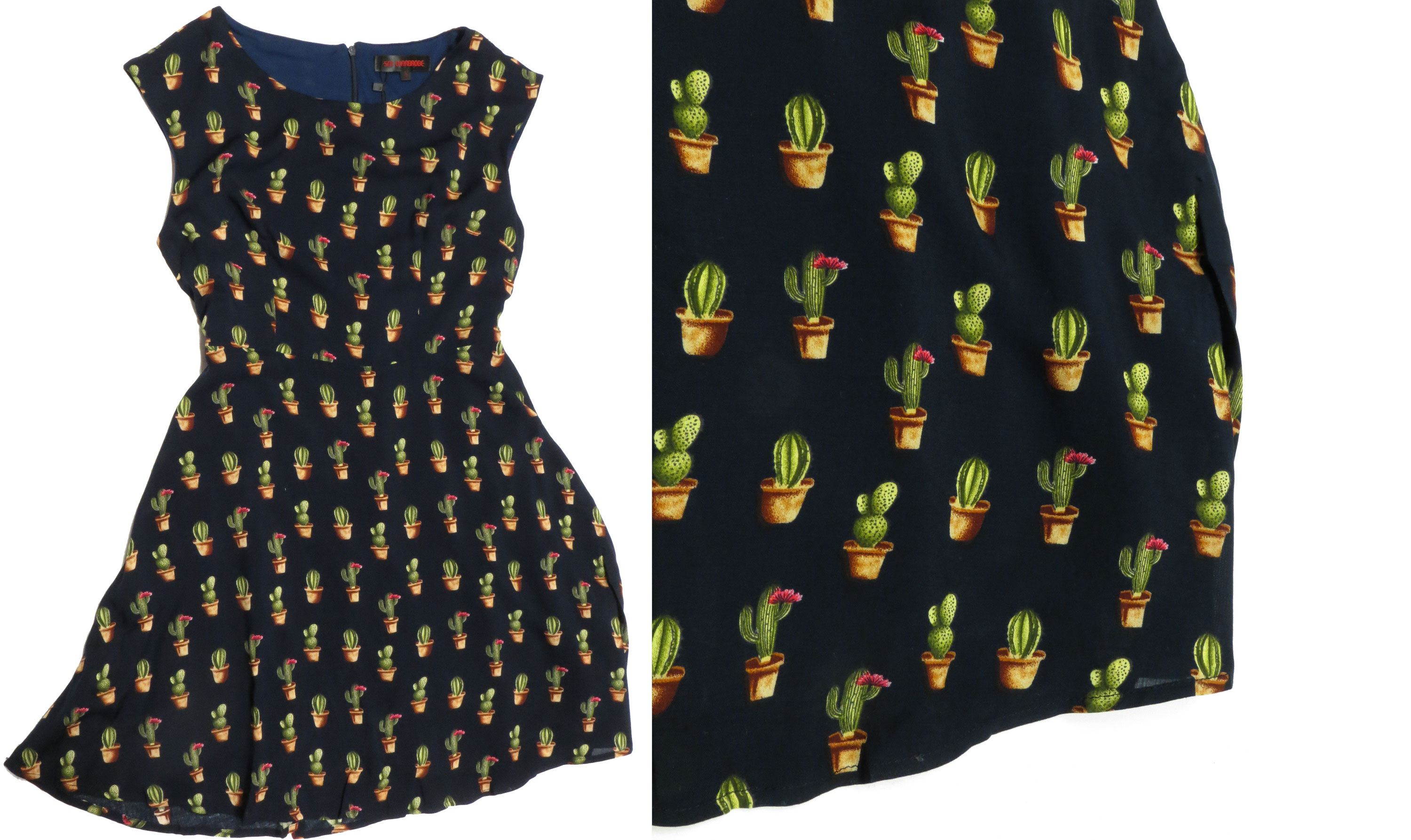 Cactus Print Sleeveless