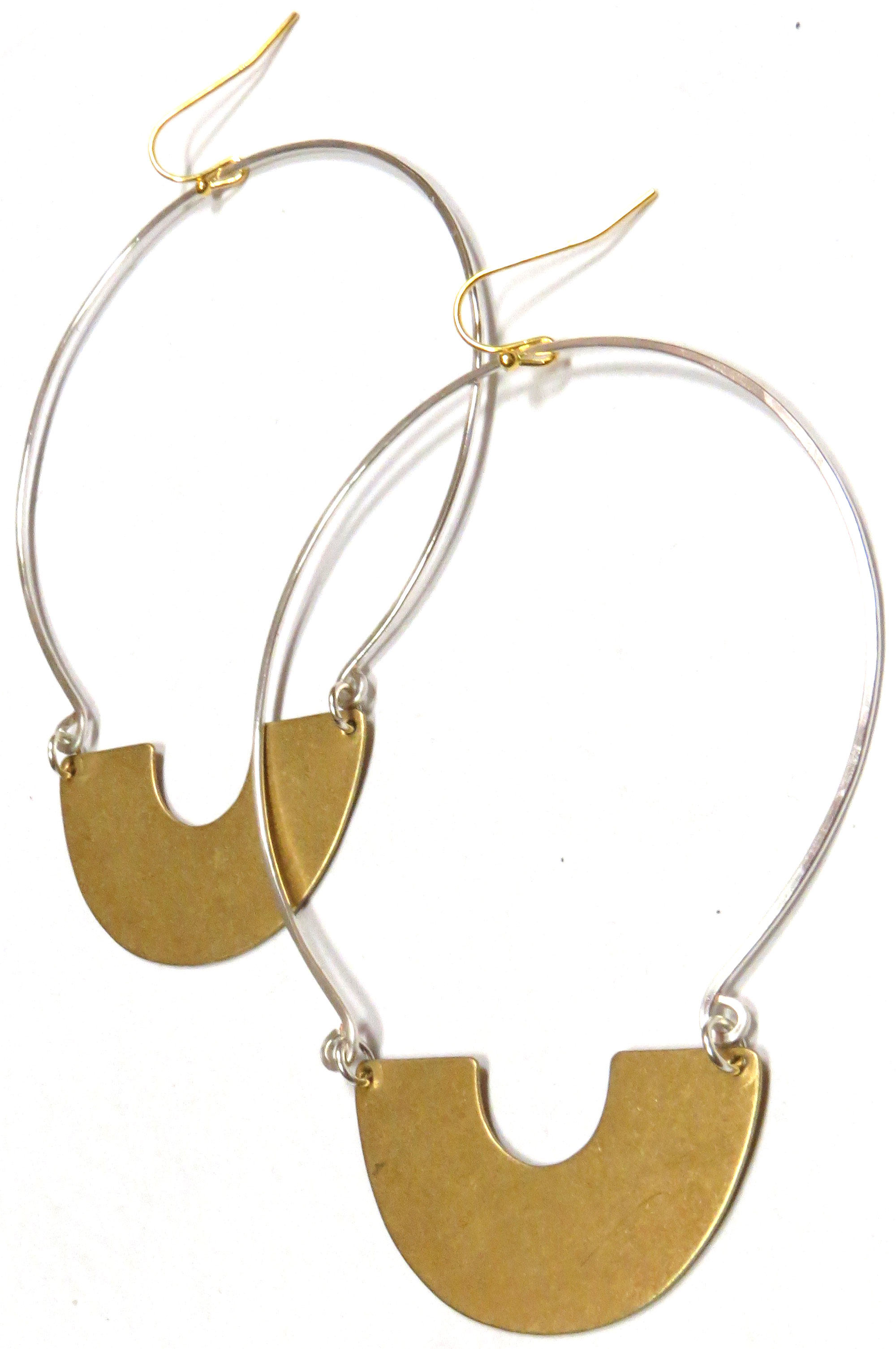 Brass Hoops
