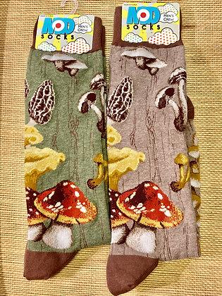 Men's Crew Mushroom Forager Socks