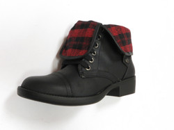 Flannel Foldover Boot
