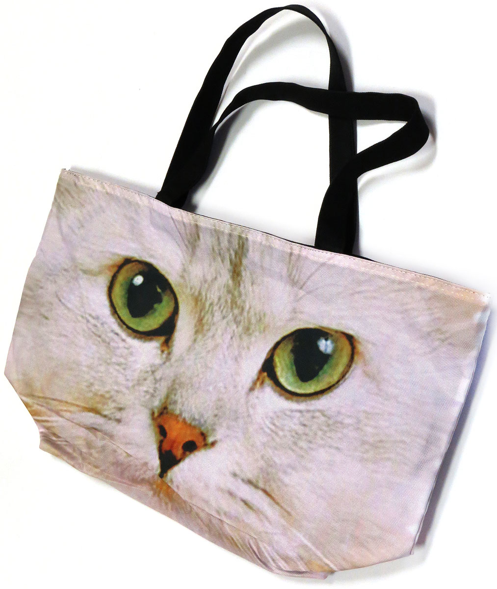 Photoprint Zippered Tote
