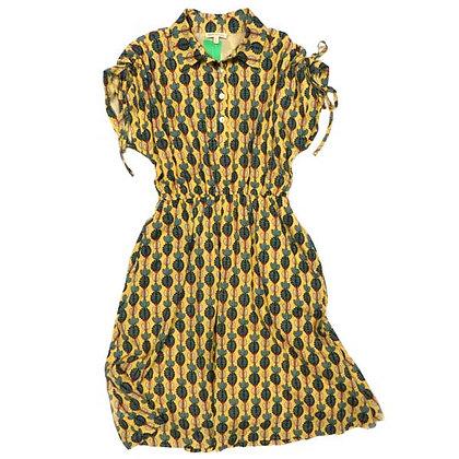 Mod Cactus Cap Sleeve Dress