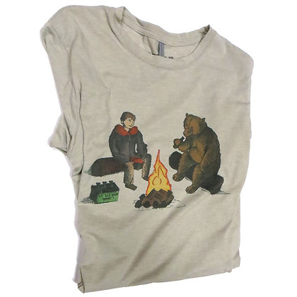 Bear with a Beer Tee-Shirt