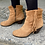 Thumbnail: Sam Edelman Leather Suede Fringe Booties