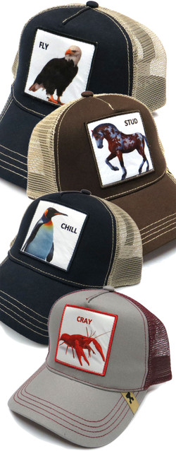 Patched Trucker Hats