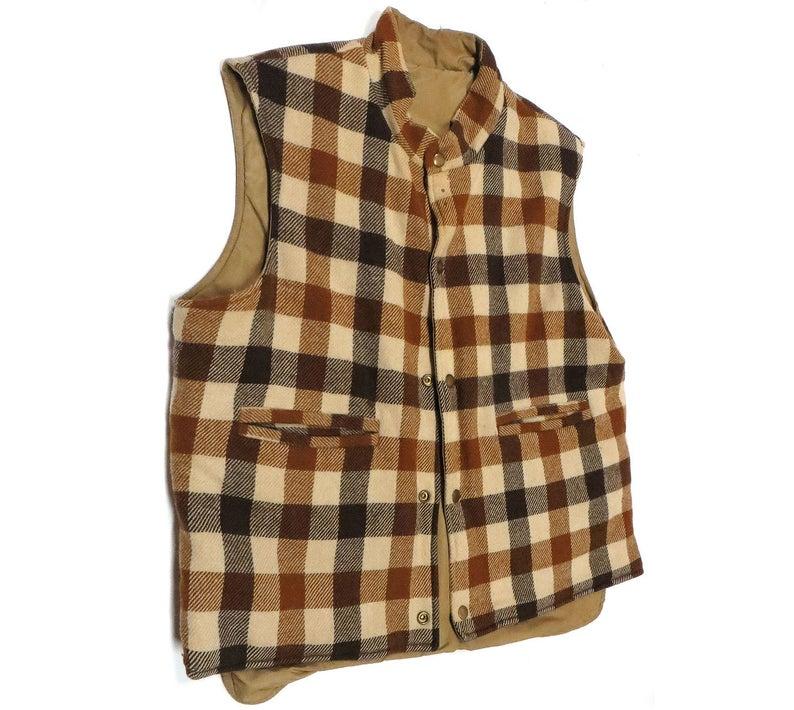vintage L.L. Bean Reversible Vest