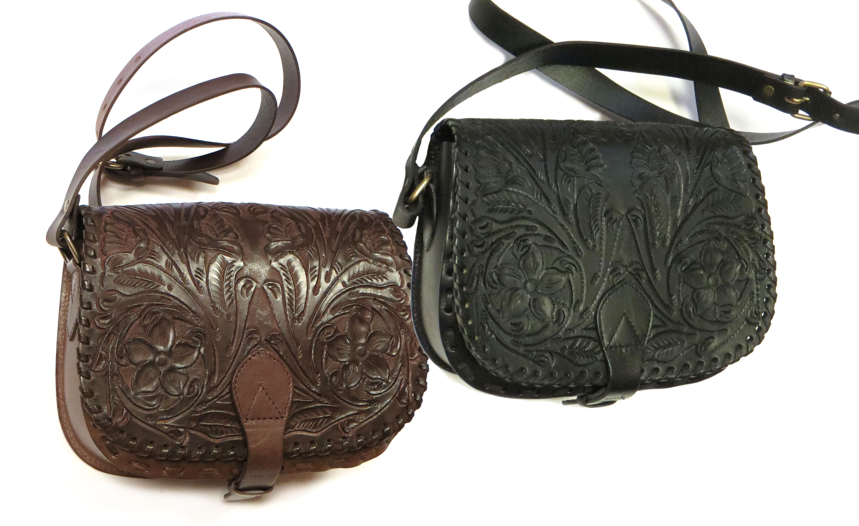 Tooled Western Bags
