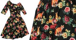 Floral Forest Dress