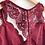 Thumbnail: Burgundy Floral Racerback Bralette