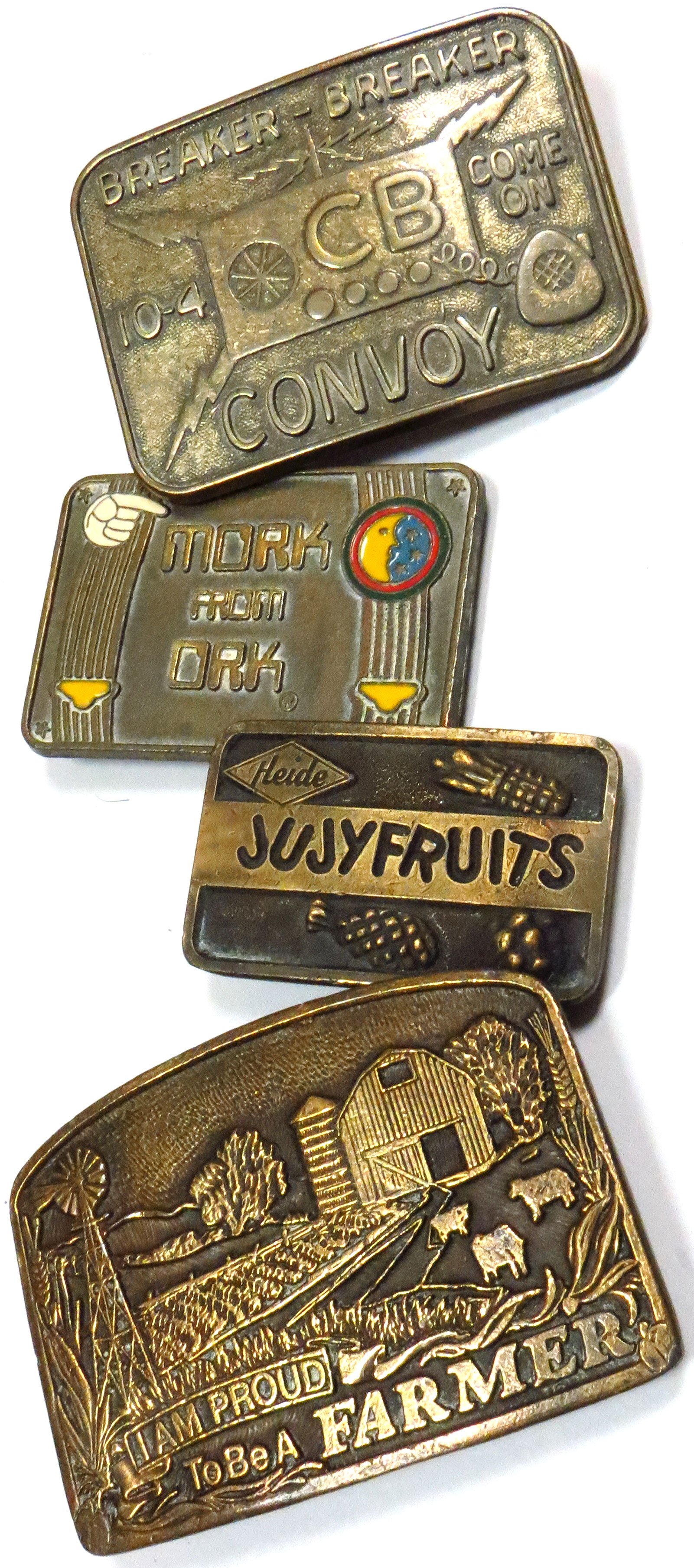 Assorted Vintage Belt Buckles