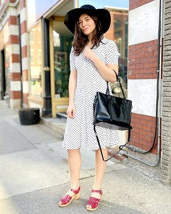 Super Soft Rayon Polka Dot Dress