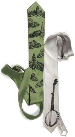 Screen Printed Neckties