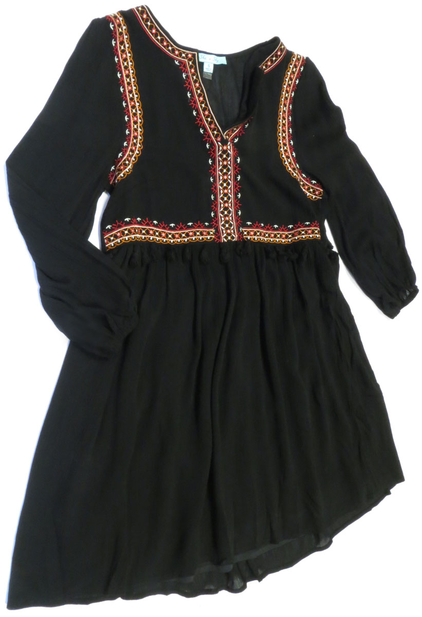 Folkloric Long Sleeve Dress