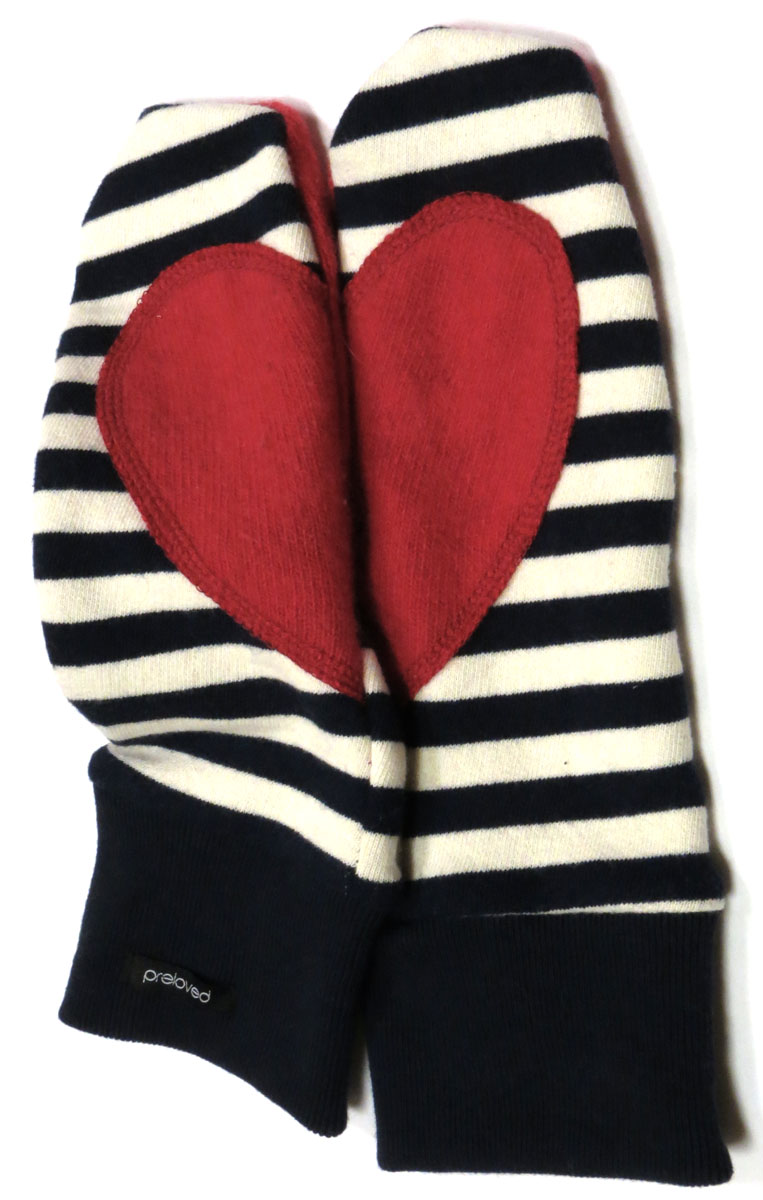 Heart Mittens