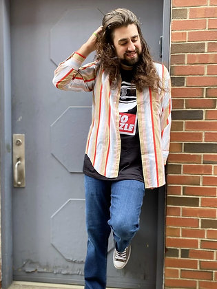 Vintage '70s Fresh Striped Shirt