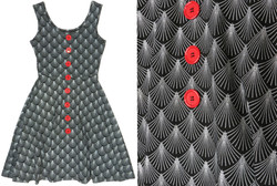 Effie's Heart Button Dress