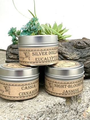 All Natural Aromatic Candles