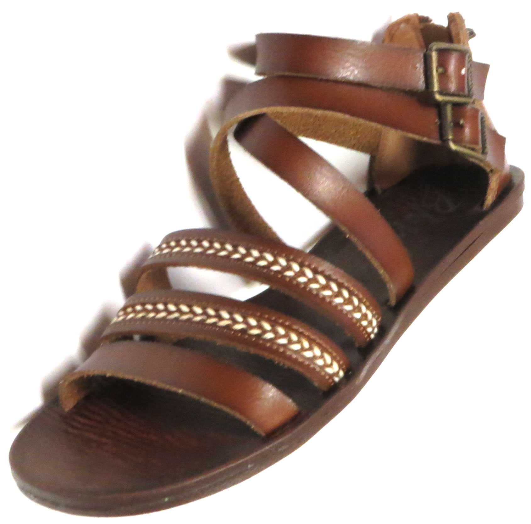 Top Stitched Sandal