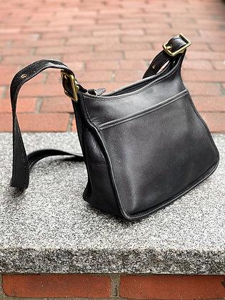 Vintage '90s Coach Leather Crossbody Bag
