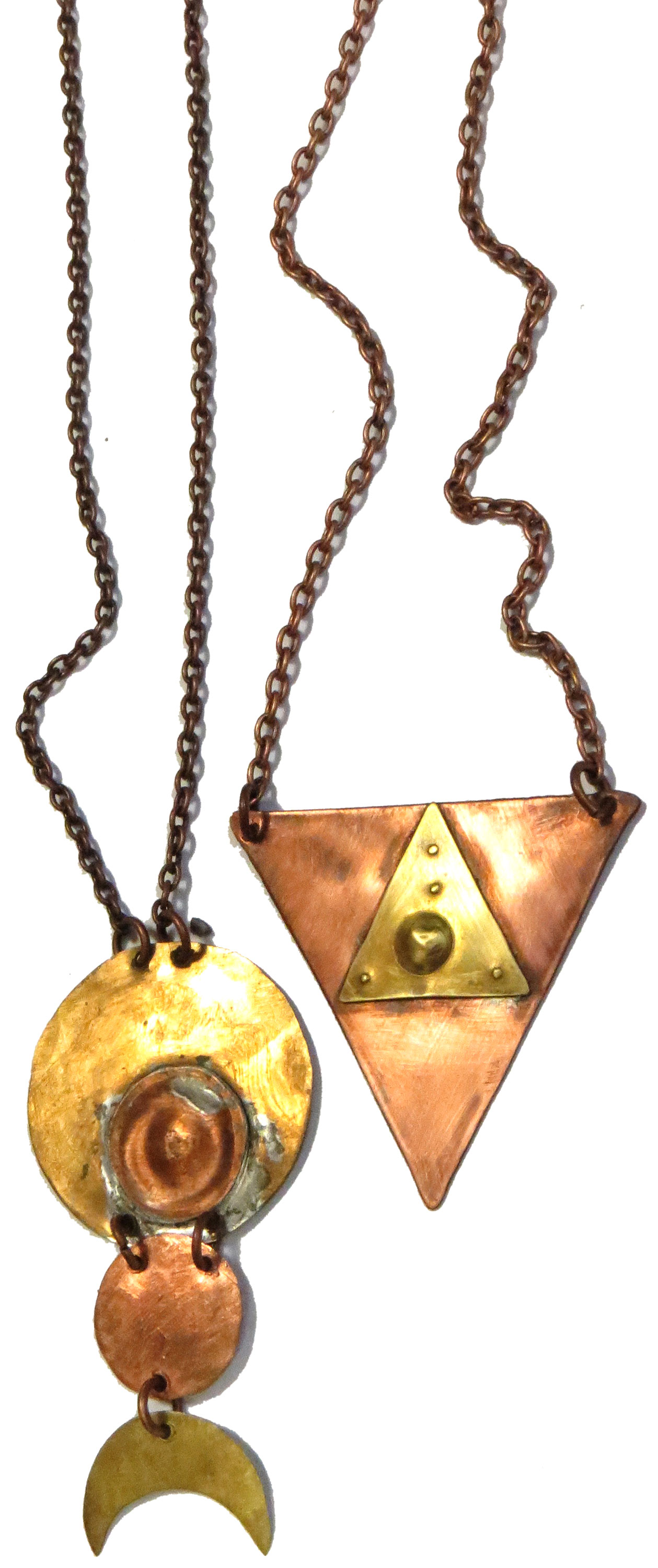 Copper & Brass Necklaces