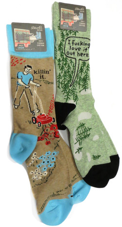 Illustrated Socks