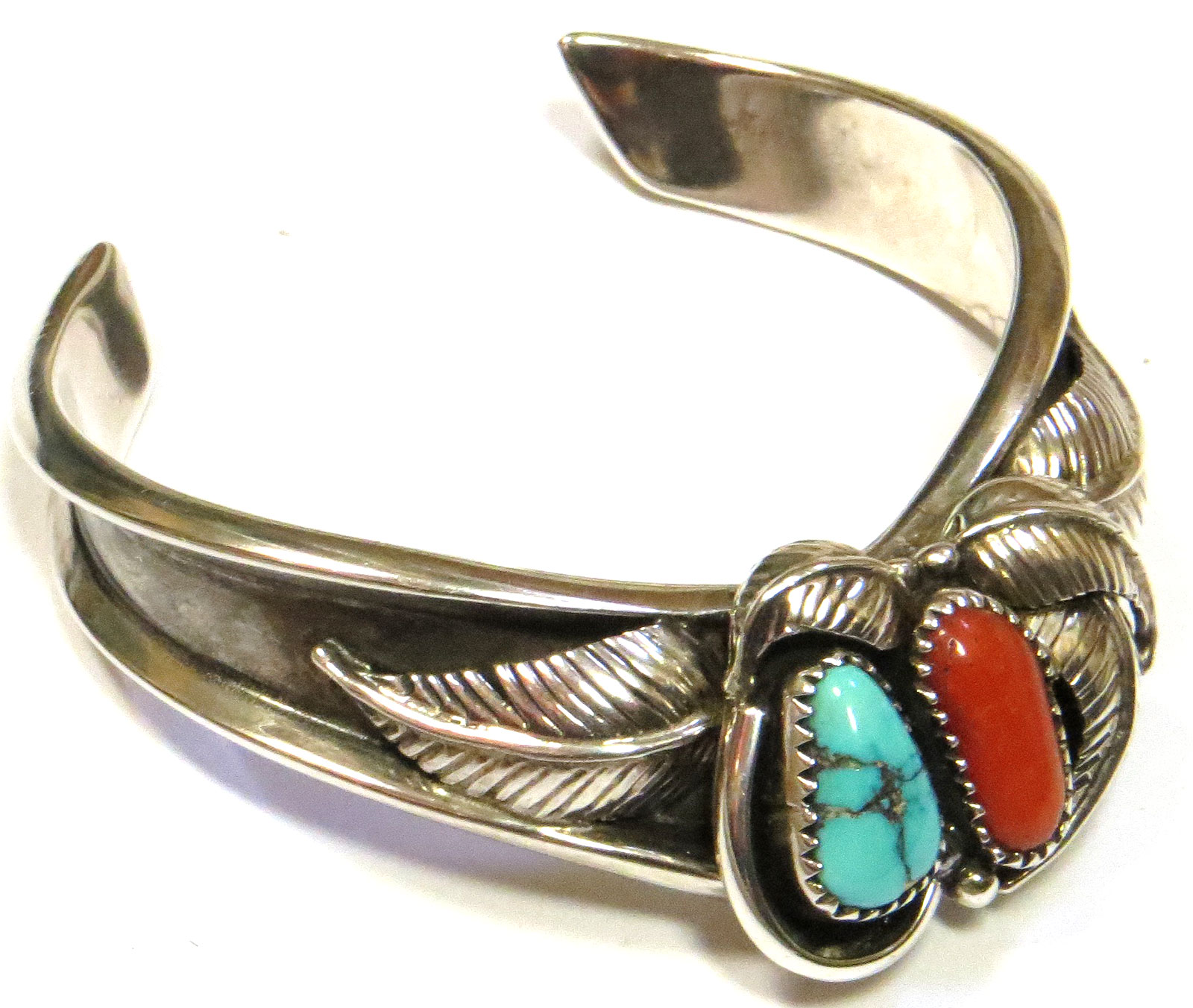 Sterling & Turquoise Cuff Bracelet