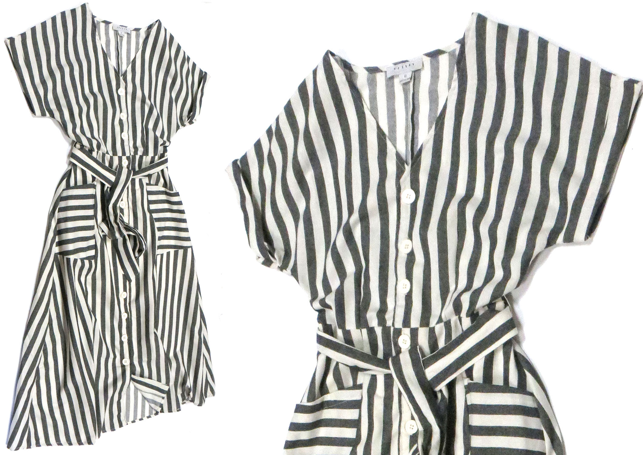 Striped Spring Button-Up