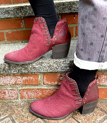 OTBT Santa Fe Leather Western Booties