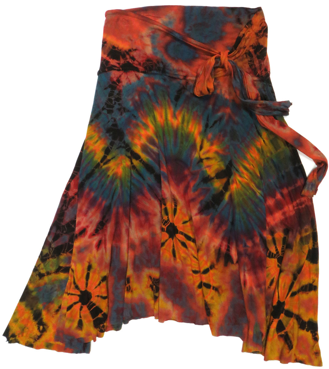 Tie Dye Jersey Skirt