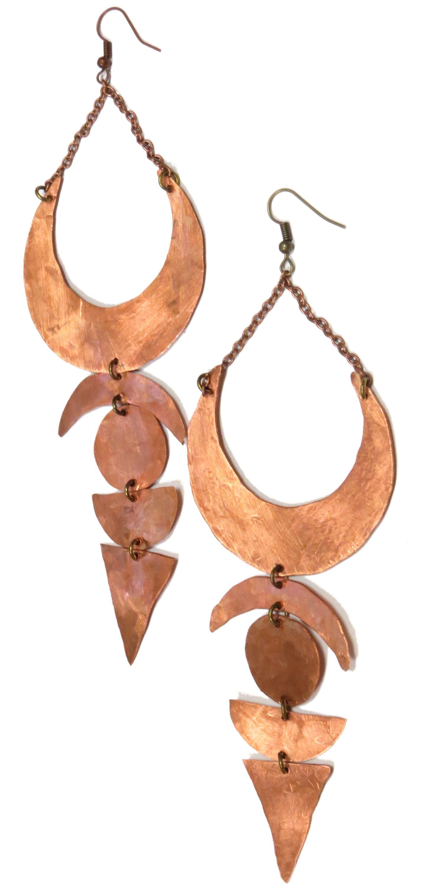 Geo Copper Shoulder Dusters