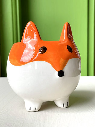 Cute 'Lil Fox Planter