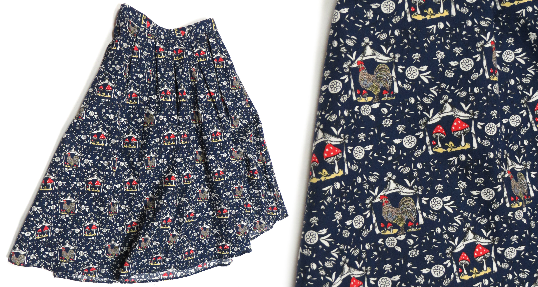 Mushroom Skirt