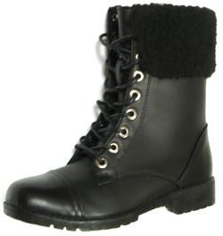 Fleece Combat Boot