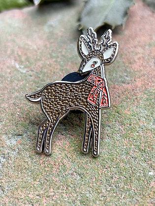Cozy Deer Pin