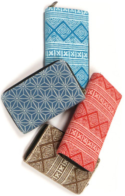 Block Print Wallets