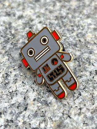 Robot Friend Enamel Pin