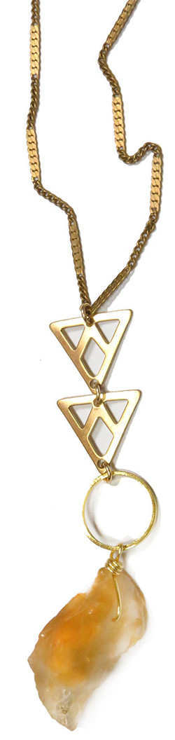Mineral Specimen Statesment Necklace