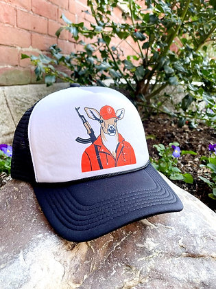 """""""The Hunter"""" Mesh Back Trucker Hat"""