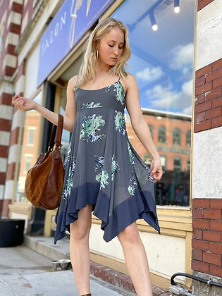 Free People Flowy Floral Sundress