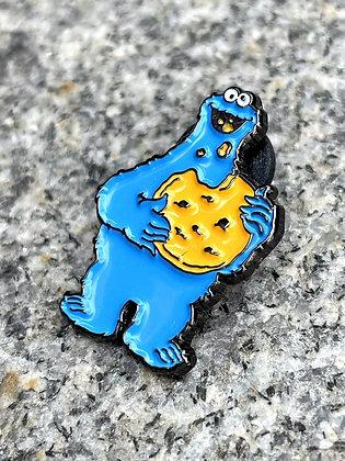 Cookie Monster Enamel Pin